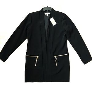 NWT Michael Kors Coat/Blazer Black Small